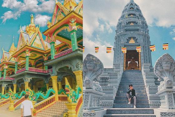 Điểm danh 10 ngôi chùa Khmer miền Tây đẹp và nổi tiếng hàng đầu