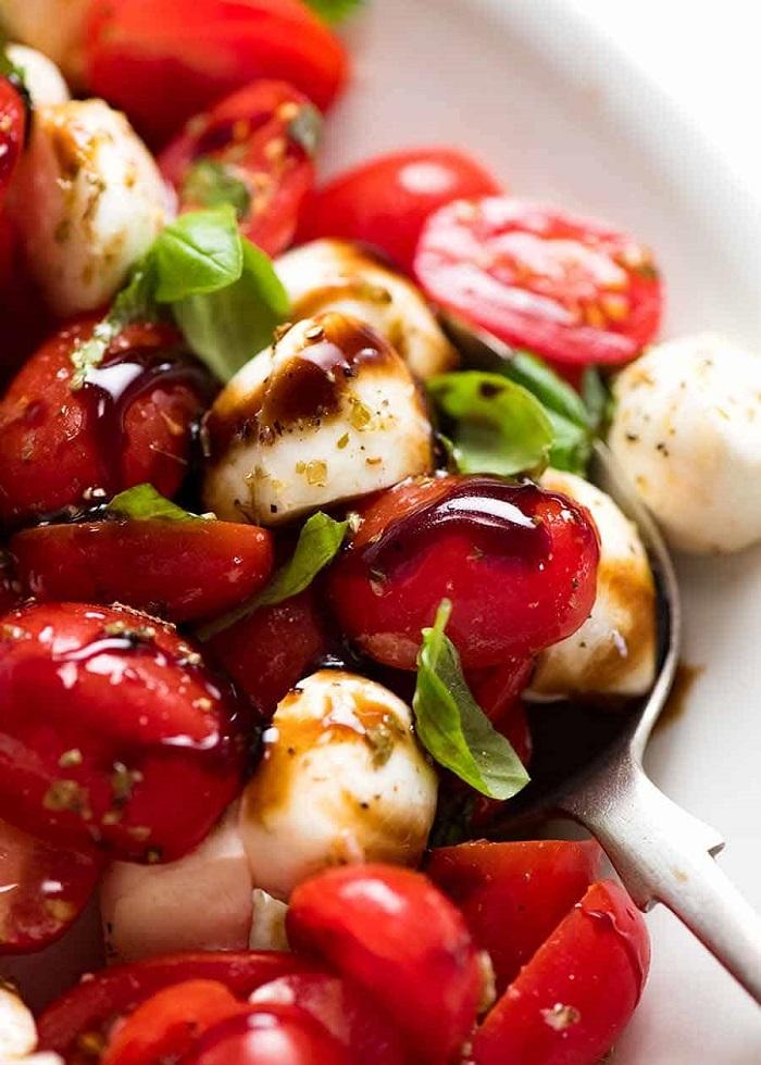 Salad Caprese  - Món ăn nổi tiếng ở Ý