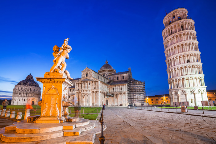 Chiêm ngưỡng tháp nghiêng Pisa - Địa danh thu hút