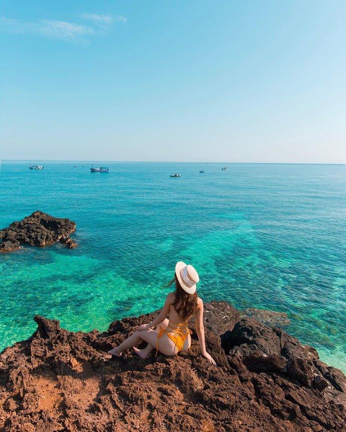 Lý Sơn điểm du lịch biển mùa hè tuyệt đẹp