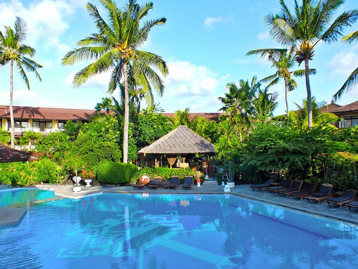 Tại khách sạn Palm Beach Kuta - Cách lựa chọn khu vực lưu trú tại Bali