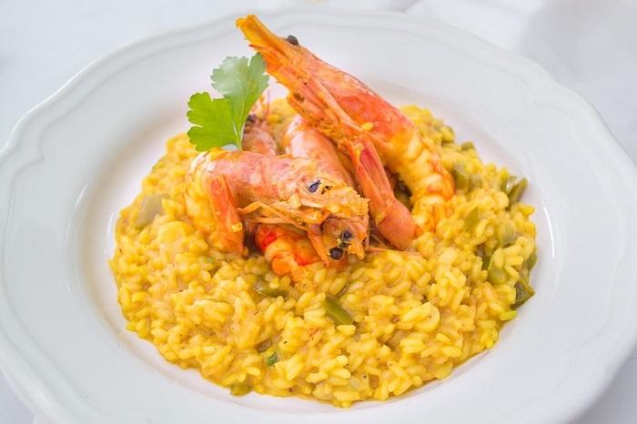 Món ăn nổi tiếng ở Ý Cơm Risotto