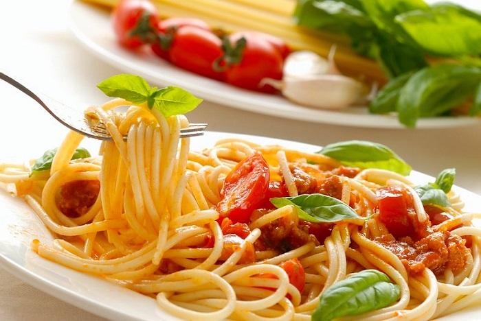 Mì Ý spaghetti - Món ăn nổi tiếng ở Ý