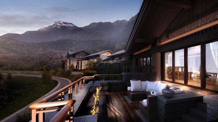 The Ritz-Carlton Hotel - China Jiuzhaigou Travel