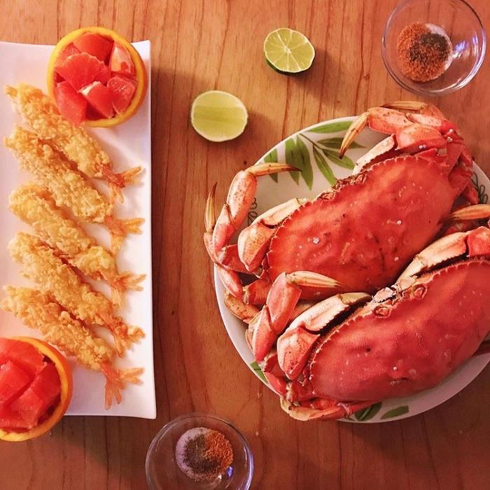 hải sản - món ăn ngon tại đảo Nam Cát
