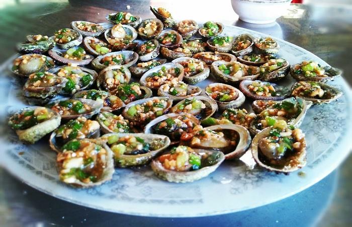 hải sản - món ăn ngon tại Biển Lệ Thủy
