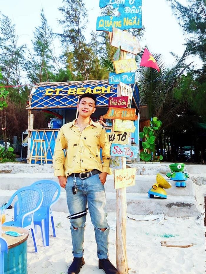 CT Beach bar - the attraction of Chau Tan Beach