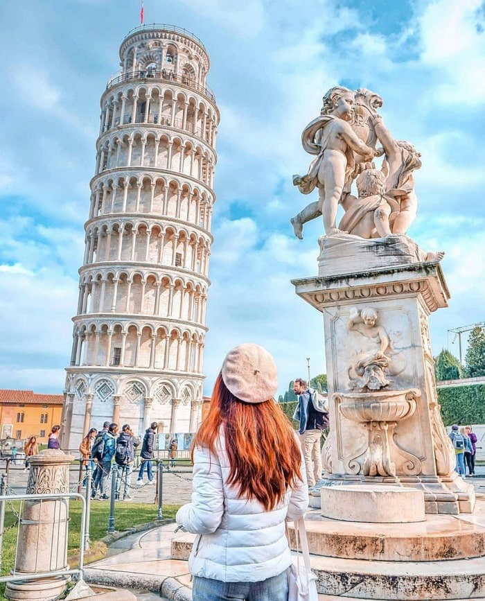 Chiêm ngưỡng tháp nghiêng Pisa - tham quan vào bất kỳ mùa nào