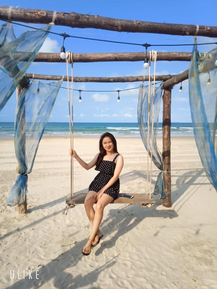 swing - virtual living corner at Chau Tan Beach