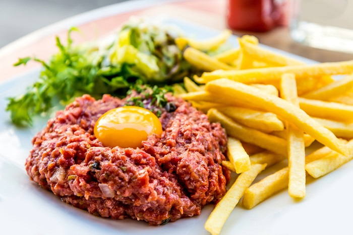 Steak Tartare - Typical French cuisine