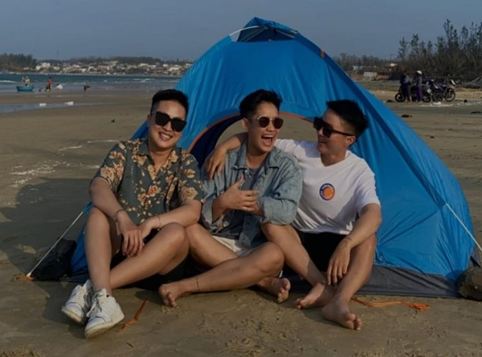 camping - a must-try experience at Chau Tan Beach