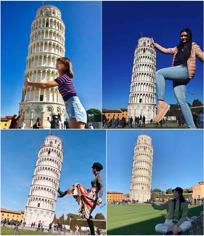 Chiêm ngưỡng tháp nghiêng Pisa - Check in