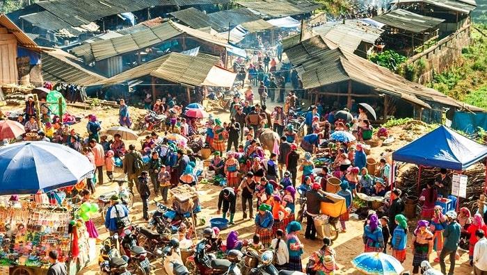 Bac Ha Market - Fair market in Lao Cai