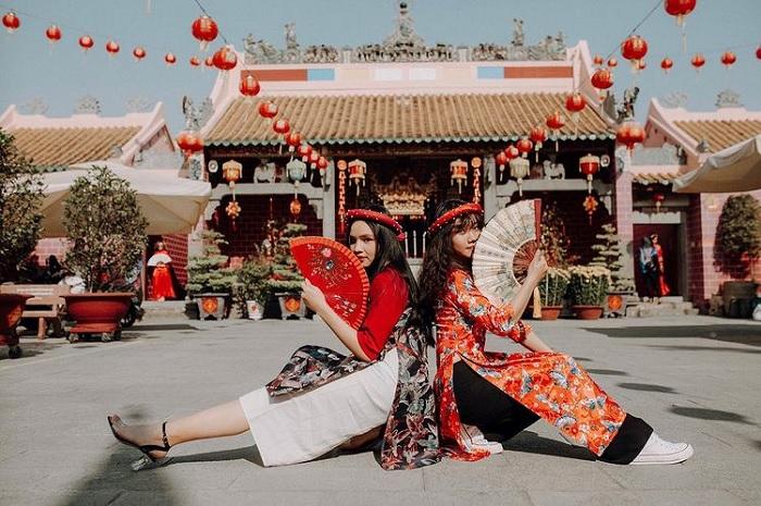 kiến trúc chữ Khẩu - nét độc đáo của chùa Ông Biên Hòa