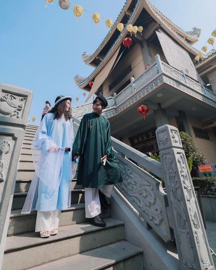 quan âm các - công trình khác biệt tại chùa Ông Biên Hòa