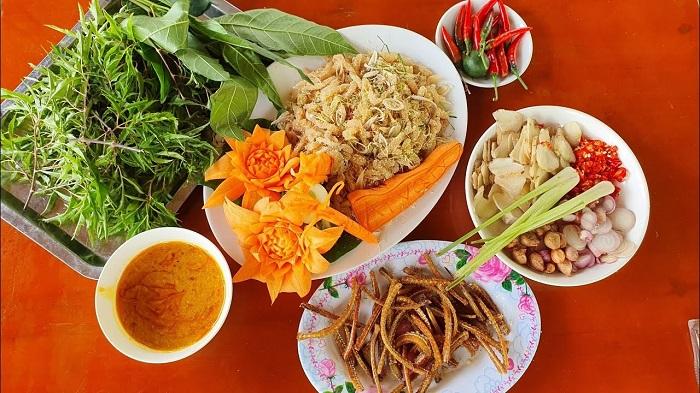 Fish salad in Ninh Binh - delicious specialty in Ninh Binh