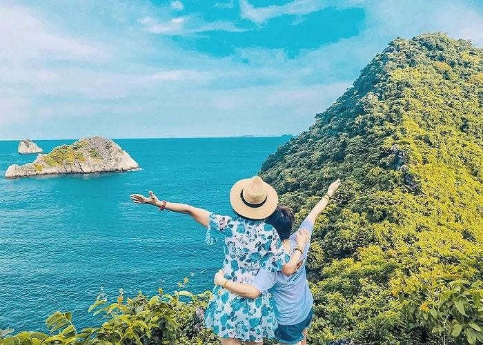 leo núi - trải nghiệm hấp dẫn tại Đảo Khỉ Cát Bà