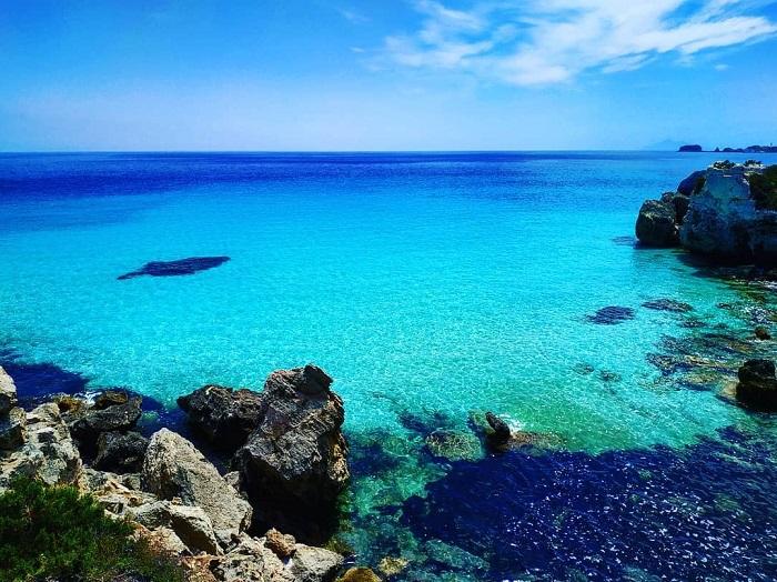 Vùng biển tuyệt đẹp xung quanh đảo Pianosa