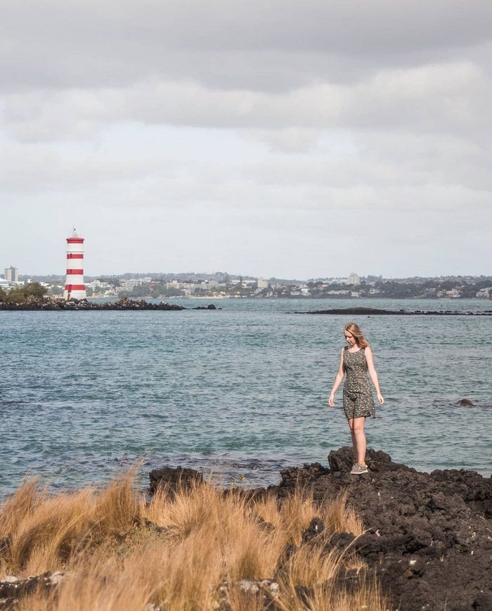 Đảo núi lửa là một địa điểm du lịch Aucklannd nổi tiếng - Hướng dẫn du lịch đảo Rangitoto ở New Zealand
