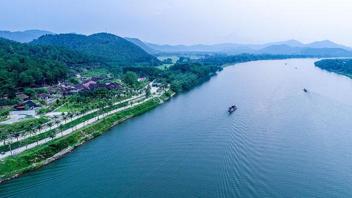 Check in khu du lịch Về Nguồn Huế  - Đi ngược dòng Hương Giang