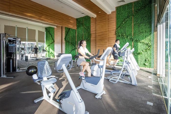 Voucher Sonasea Phú Quốc giá tốt - sử dụng phòng tập gym hiện đại