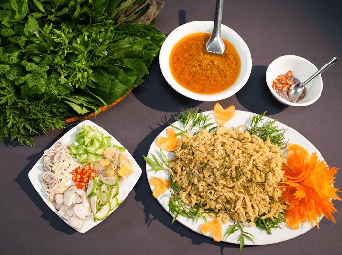 About Ninh Binh fish salad