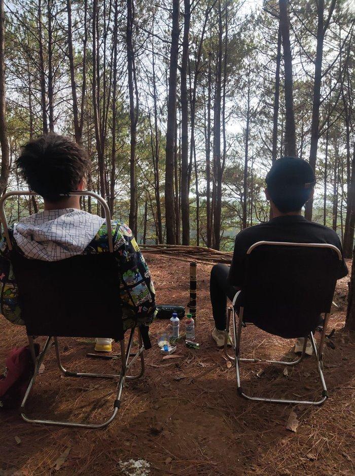 đồi diên phú địa điểm cắm trại ở Gia Lai