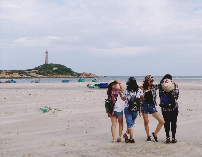du lịch biển gần Sài Gòn - Mũi Kê Gà, Bình Thuận