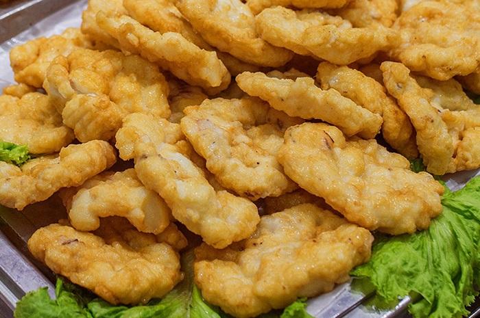 Cam Pha tourism - squid pies