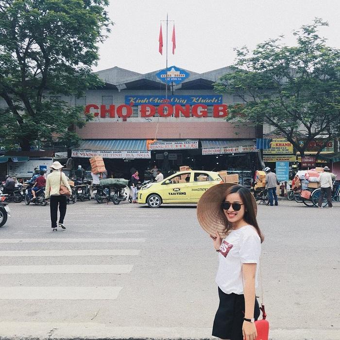 du lịch Huế 1 ngày- chợ Đông Ba