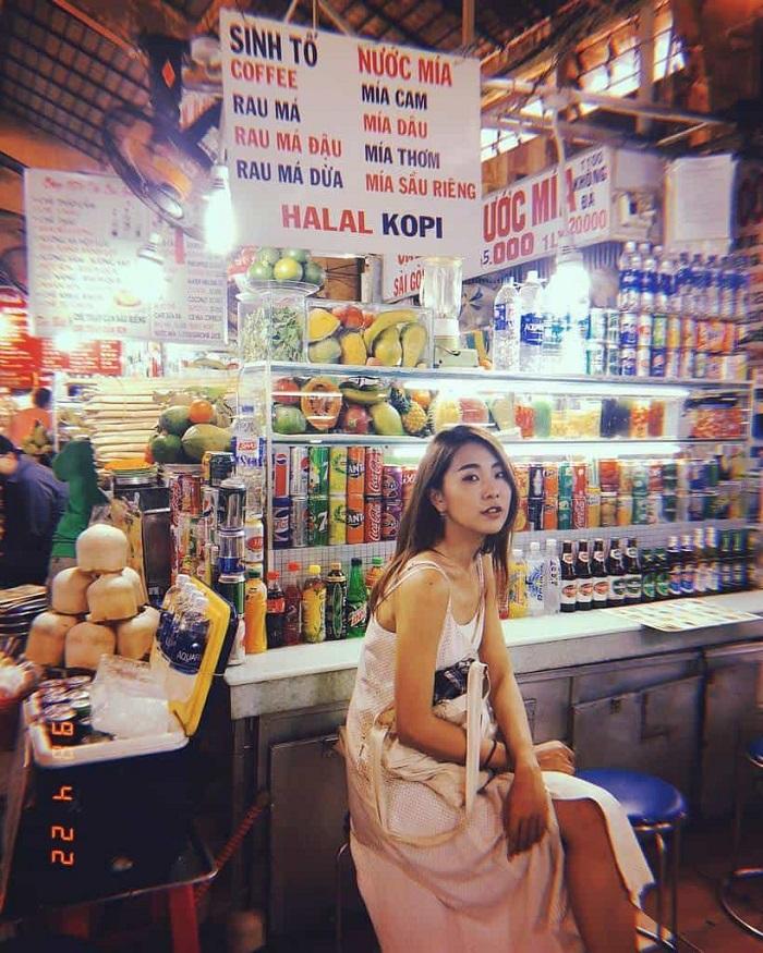 du-ldu lịch Sài Gòn 2 ngày 1 đêm - chợ Bến Thành