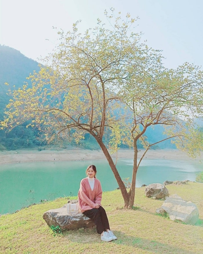 du lịch Trà Lĩnh - thăm Hồ Thang Hen