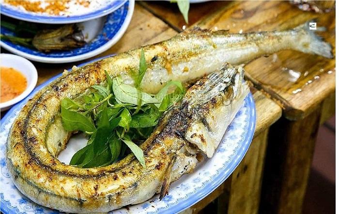 Hòn Ngang Nam Du - cá nướng