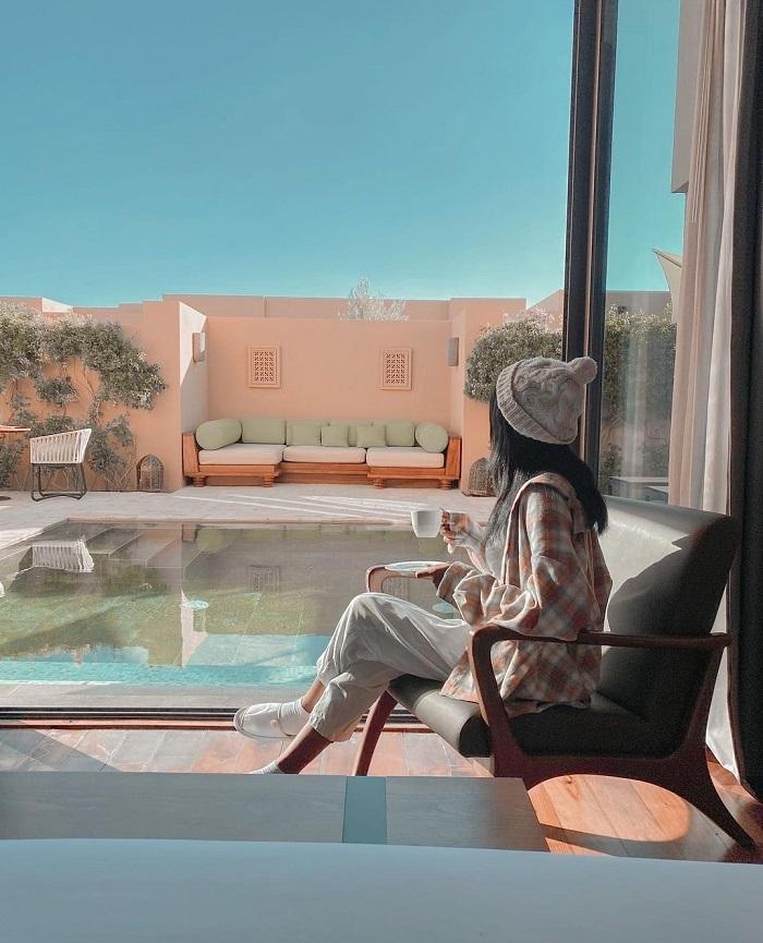 Khu nghỉ dưỡng Anantara Al Jabal Al Akhdar nằm ở một hẻm núi của Oman - Top những khách sạn trên vách đá