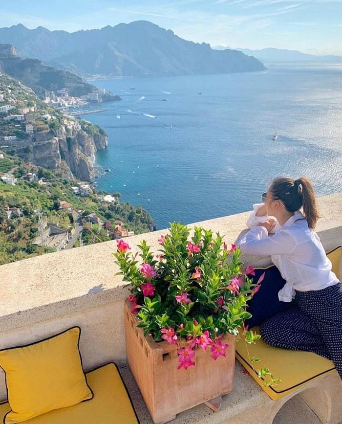 Tầm nhìn hướng biển Amafi tuyệt đẹp - Top những khách sạn trên vách đá
