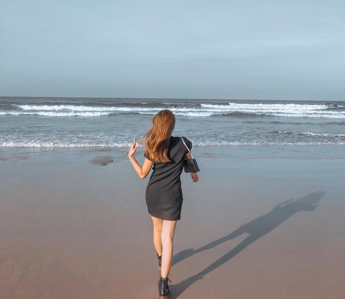 quiet space - the attraction of Chau Tan Beach