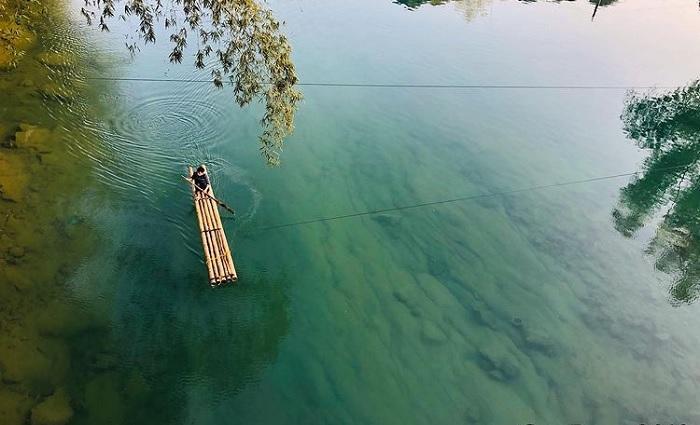 bè gỗ - nét đẹp lao động trên sông Quây Sơn