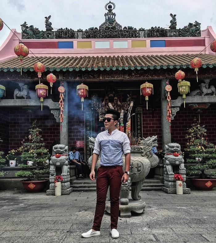 cổ kính - điểm đặc trưng của chùa Ông Biên Hòa