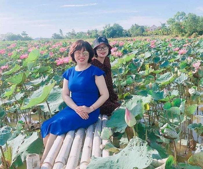 Làng Sen - Địa điểm chụp ảnh đẹp ở Nghệ An