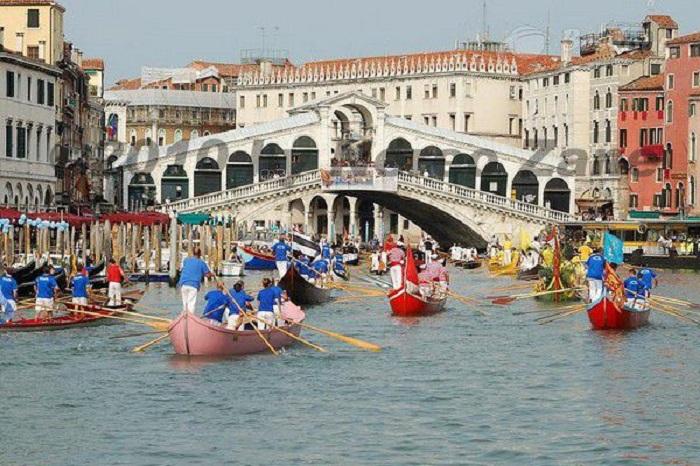 Lễ hội đua thuyền Venice lễ hội đặc sắc ở Châu Âu