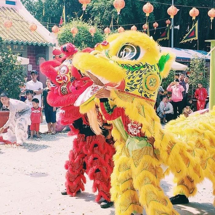 lễ hội - dịp quan trọng tại chùa Ông Biên Hòa