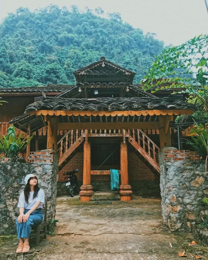 khu du lịch hồ Thang Hen - điểm lưu trú khi du lịch Trà Lĩnh