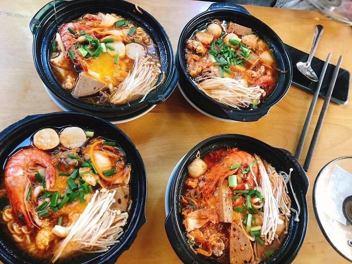 Mì cay Busan - Nhà hàng ăn ngon ở Lai Châu được yêu thích nhất
