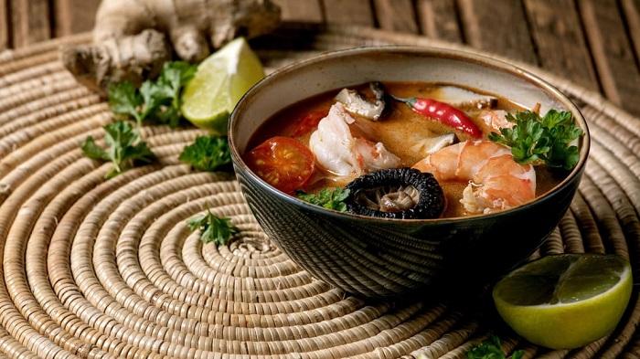 Món Tom yum goong - Món ăn có nước súp ngon nhất thế giới
