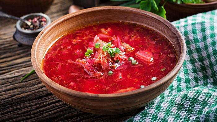 Súp củ cải đỏ Borscht - Món ăn có nước súp ngon nhất thế giới