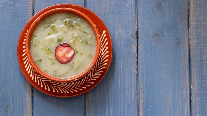 Súp Caldo verde - Món ăn có nước súp ngon nhất thế giới