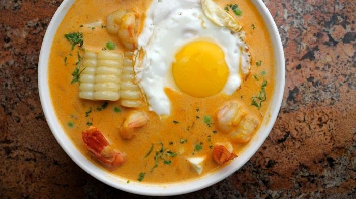 Súp kem Chupe de camarones - Món ăn có nước súp ngon nhất thế giới