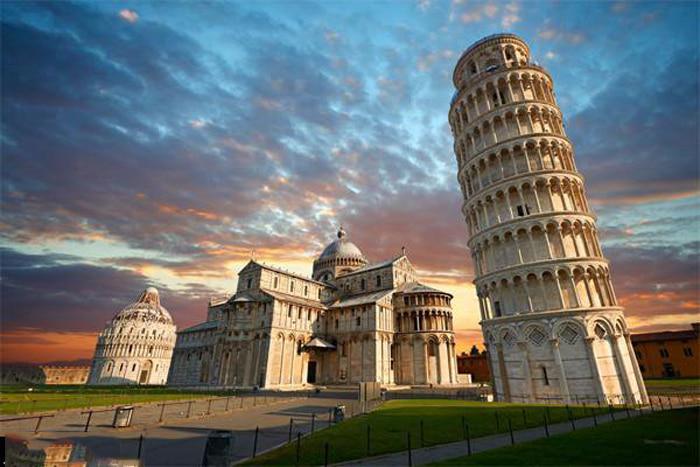 Chiêm ngưỡng tháp nghiêng Pisa - kỳ quan của thế giới