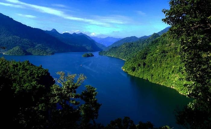 Một thoáng 'tiên cảnh' nơi sông Gâm Cao Bằng