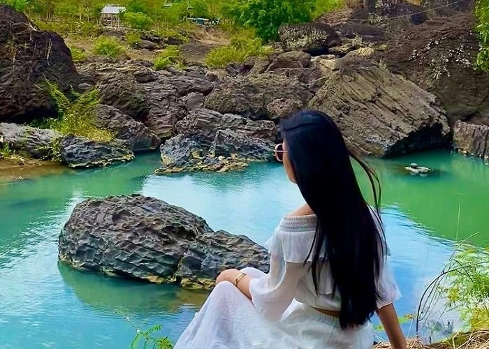 Ngắm 'nàng thiếu nữ trĩu nặng tâm tư' mang tên thác Trinh Nữ ở Đắk Lắk